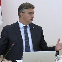 Andrej Plenković na sjednici Vlade (Foto: Dnevnik.hr)