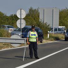 Prosvjed u Stankovcima zbog čestih prometnih nesreća (Foto: Hrvoje Jelavic/PIXSELL) - 15