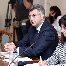 Andrej Plenković i Blaženka Divjak (Foto: Patrik Macek/PIXSELL)