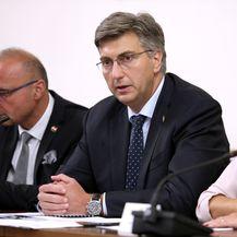Andrej Plenković, Dubravka Šuica (Foto: Patrik Macek/PIXSELL)