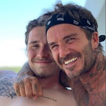 David i Brooklyn Beckham (Foto: Instagram)