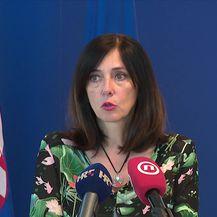 Ministrica Divjak predstavila je proširenu aplikaciju Školski rudnik te statistiku o izostancima (Video: Vijesti u 17h Nova TV)