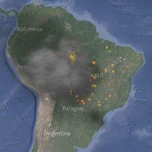 I dalje gore šume u Amazoniji (Foto: Dnevnik.hr)