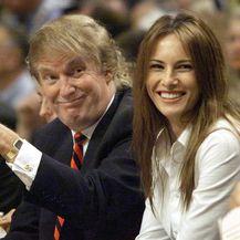 Melania i Donald Trump (Foto: AFP)