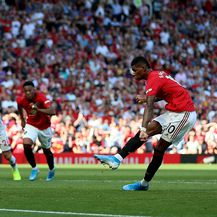 Rashford promašio penal protiv Crystal Palacea (Foto: Nigel French/Press Association/PIXSELL)