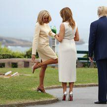 Melania Trump vs. Brigitte Macron - 4