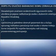Dopis policijske uprave Osiječko-baranjske (Foto: Dnevnik.hr)