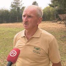 Vlasnik imanja s jelenima Milan Bićanić (Foto: Dnevnik.hr)