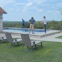 Dvorište kuće za odmor (Foto: Dnevnik.hr)
