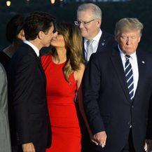 Justin Trudeau i Melania Trump srdačno su se pozdravili