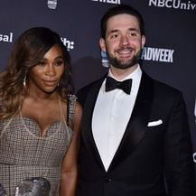 Alexis Ohanian i Serena Williams (Foto: AFP)