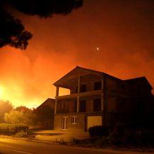 Požar kod Šibenika (Foto: Dusko Jaramaz/PIXSELL)
