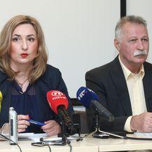 Sanja Šprem, Branimir Mihalinec (Foto: Zeljko Lukunic/PIXSELL)