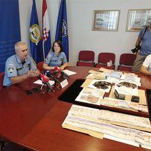 Velika zapljena pulske policije na festivalu (Foto: PU Istarska)
