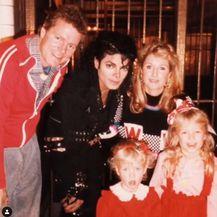 Obitelj Hilton i Michael Jackson (Foto: Instagram)