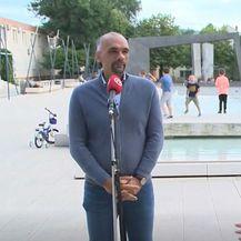 Marko Jelić, gradonačelnik Knina, i Sanja Jurišić