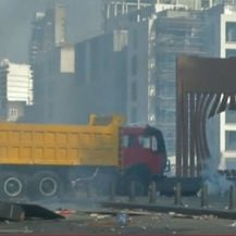 Prosvjed u Libanonu nakon eksplozije - 1