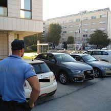 Policija ispred Županijskog suda u Splitu - 1