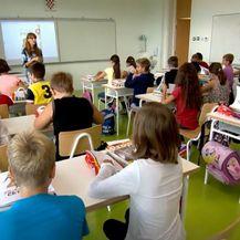 Učionica, ilustracija