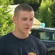 Leo Pažin, vatrogasac JVP Požega