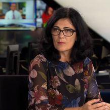 Profesorica Andrea Ambriović Ristov s Instituta Ruđer Bošković u studiju Dnevnika Nove TV - 2