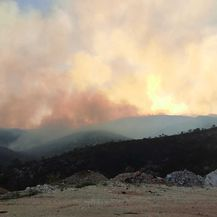 Požar kod Trogira - 1