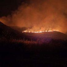 Fotografije s požarišta kod Trogira - 1