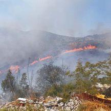 Fotografije s požarišta kod Trogira - 4