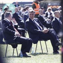 Milanović i Plenković na obljetnici Oluje - 1