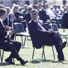 Milanović i Plenković na obljetnici Oluje - 3