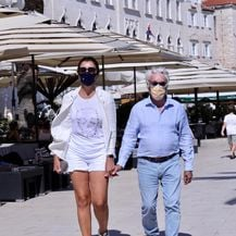 Bernie Ecclestone i Fabiana Flossi u Trogiru