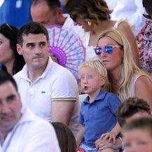Janica Kostelić sa sinom Oskarom