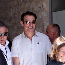 Goran Višnjić sa sinom Tinom