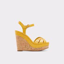 Žute sandale iz trgovina - ljeto 2021. - 2