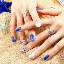 Ribe vole plavu boju na svojim noktima