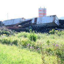 Kod Križevaca se sudarila dva teretna vlaka - 6