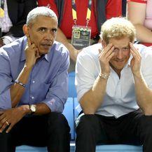 Barack Obama i princ Harry