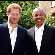 Princ Harry i Barack Obama