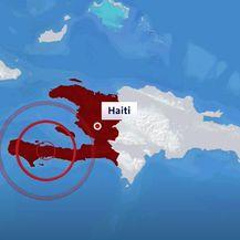 Snažan potres na Haitiju - 1
