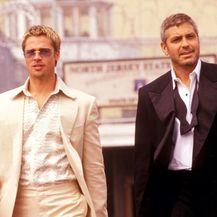 Brad Pitt i George Clooney - 5