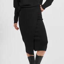 Crne suknje midi i maksi kroja iz trgovina - 2021. - 2