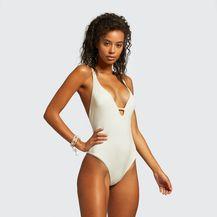 Bijeli jednodijelni kupaći kostim iz trgovina - ljeto 2021. - 4