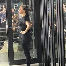 Victoria Beckham na stadionu na Floridi - 2