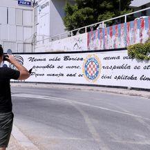 Mural Borisa i Dina Dvornika u Splitu