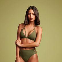 Bikini gaćice visokog struka s prorezima - 3
