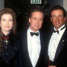 Michael Douglas i Diandra Luker