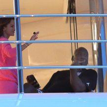 Michael Jordan i Yvette Prieto na jahti u Šibeniku