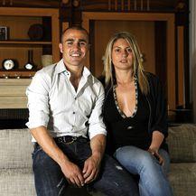 Fabio i Daniela Cannavaro