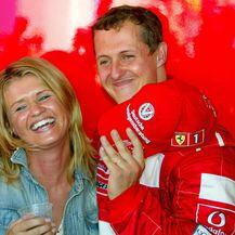 Corinna i Michael Schumacher - 3
