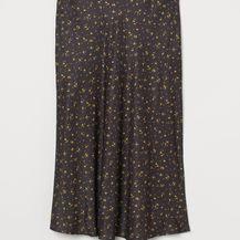 Duge suknje s uzorkom iz novih kolekcija - jesen 2021. - 2